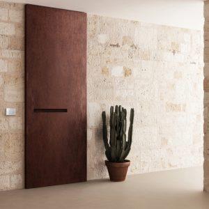 Porta blindata sintesi elegante a Bari, Brindisi e Puglia