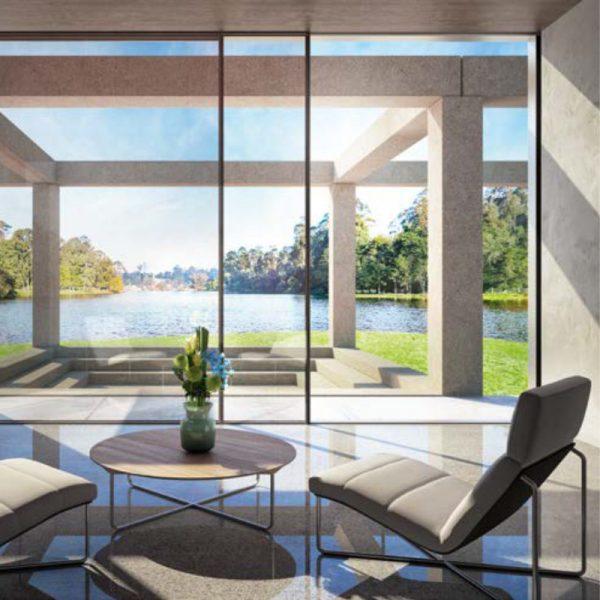 Sistema per finestre in alluminio Bari e Brindisi Schüco ASE 67 PD 4