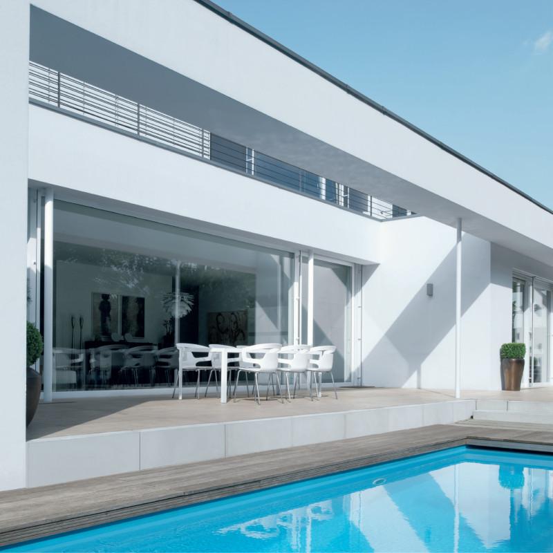 Sistema per finestre in alluminio Bari e Brindisi Aws 65 - h1